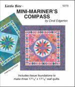 Little-Bits-Mini-Mariners-Compass-quilt-sewing-pattern-Cindi-Edgerton-front