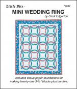 Little-Bits-Mini-Wedding-Ring-quilt-sewing-pattern-Cindi-Edgerton-front