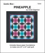 Little-Bits-Pineapple-quilt-sewing-pattern-Cindi-Edgerton-front