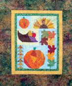 Little Bits - Shades Of Fall quilt sewing pattern from Cindi Edgerton 2