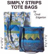 Little Bits - Simply Strips Tote Bags sewing pattern from Cindi Edgerton 2
