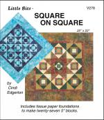 Little-Bits-Square-on-Square-quilt-sewing-pattern-Cindi-Edgerton-front
