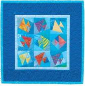 Little Bits - Tropical Fish quilt sewing pattern from Cindi Edgerton 2
