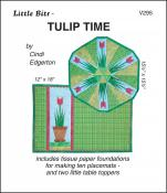 Little Bits - Tulip Time quilt sewing pattern from Cindi Edgerton
