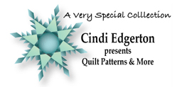 Cindi Edgerton sewing patterns logo