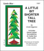 Little Bits - A Little Bit Shorter Tall Tree quilt sewing pattern from Cindi Edgerton