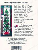 A Little Bit More - Tall Trim The Tree quilt sewing pattern from Cindi Edgerton 2