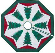 A Little Bit More - Trim The Tree - Tree Skirt sewing pattern from Cindi Edgerton 2