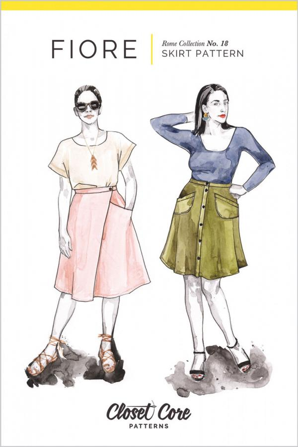 Fiore Skirt sewing pattern from Closet Core Patterns
