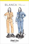 Blanca Flight Suit sewing pattern from Closet Core Patterns
