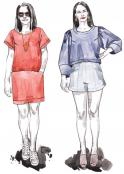 Cielo Top & Dress sewing pattern from Closet Core Patterns 2