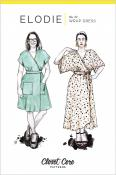 Elodie Wrap Dress sewing pattern from Closet Core Patterns