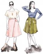 Fiore Skirt sewing pattern from Closet Core Patterns 2