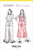 Jenny Overalls and Trousers sewing pattern from Closet Core Patterns