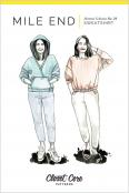 Mile End Sweatshirt sewing pattern from Closet Core Patterns