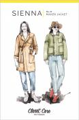 Sienna Maker Jacket sewing pattern from Closet Core Patterns