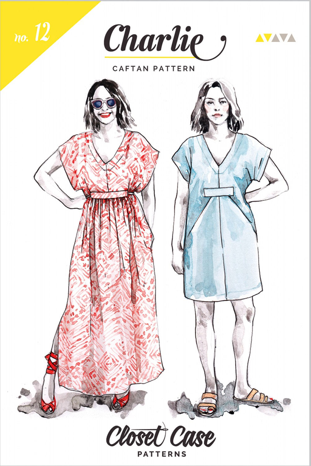 Charlie-Caftan-sewing-pattern-from-Closet-Case-front