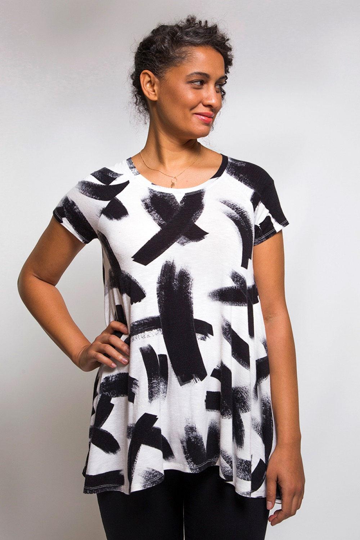 Ebony Knit Dress T Shirt Sewing Pattern From Closet Case Patterns