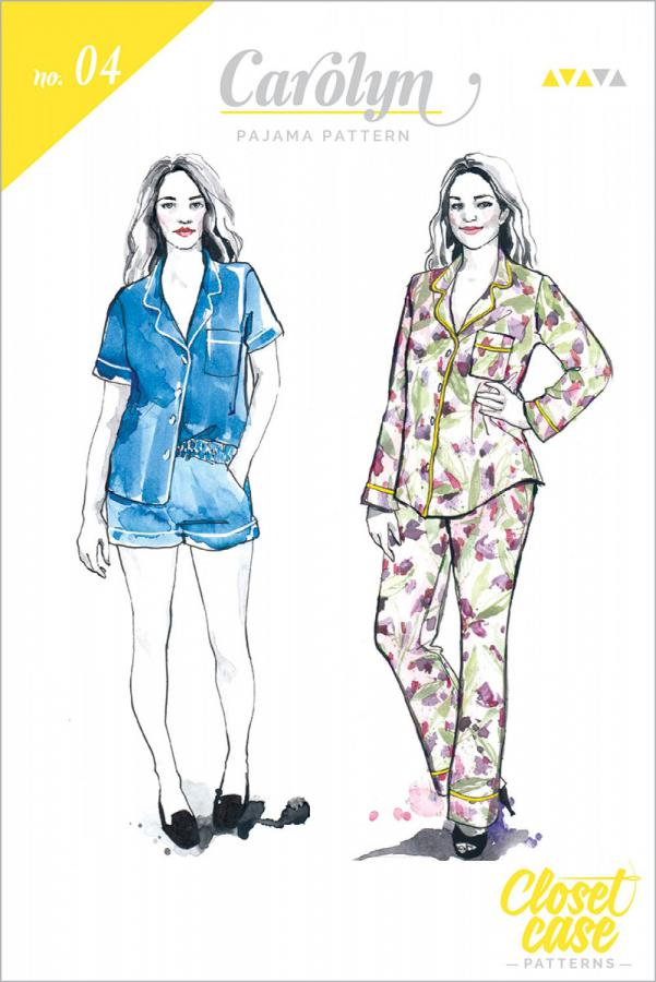 Carolyn Pajamas sewing pattern from Closet Case Patterns