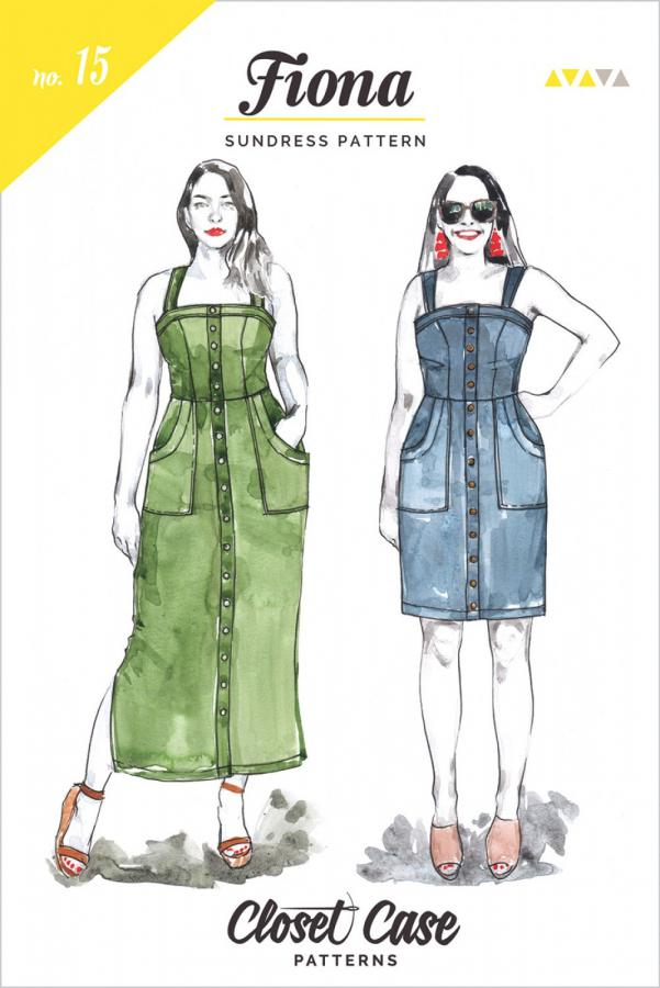 Fiona Sundress sewing pattern from Closet Core Patterns