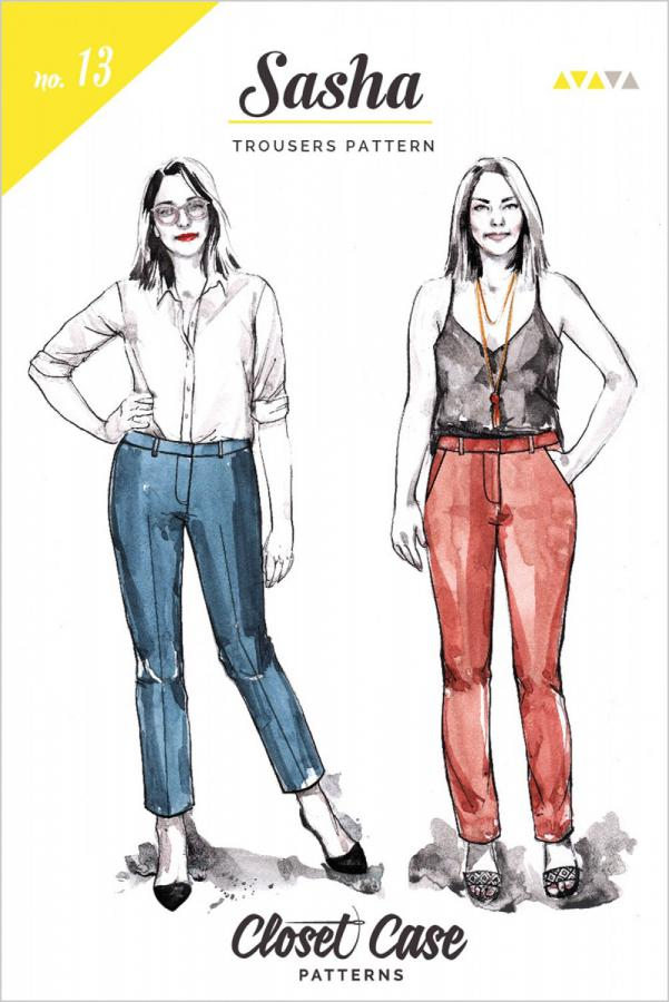Sasha Trousers sewing pattern from Closet Case Patterns