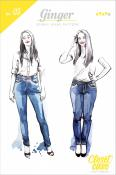 Ginger Skinny Jeans sewing pattern from Closet Case Patterns