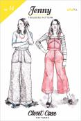 Jenny Overalls and Trousers sewing pattern from Closet Case Patterns