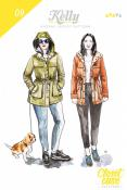 Kelly Anorak Jacket sewing pattern from Closet Case Patterns