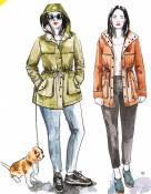 Kelly Anorak Jacket sewing pattern from Closet Case Patterns 4