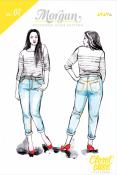 Morgan Boyfriend Jeans sewing pattern from Closet Case Patterns