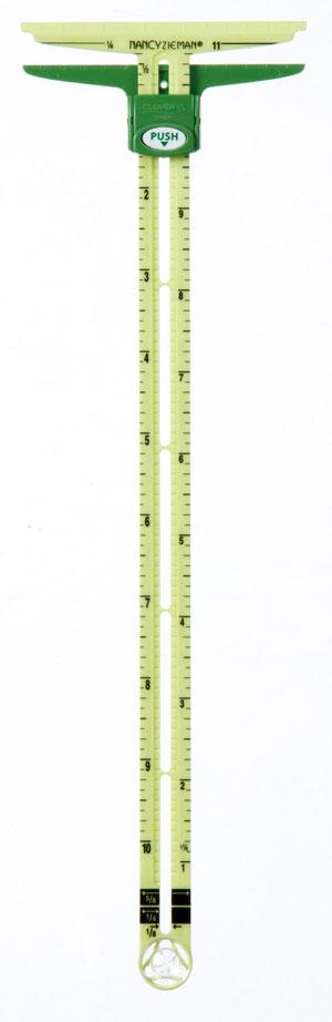 Supersize-5-in-1-sliding-gauge-ruler-Nancy-Zieman-Clover-1