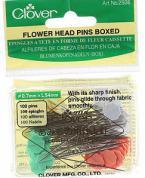 Flower Head Pins  - 100 2