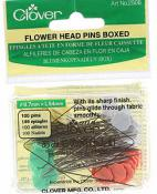Flower Head Pins  - 100 2