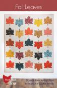Fall Leaves quilt sewing pattern from Cluck Cluck Sew