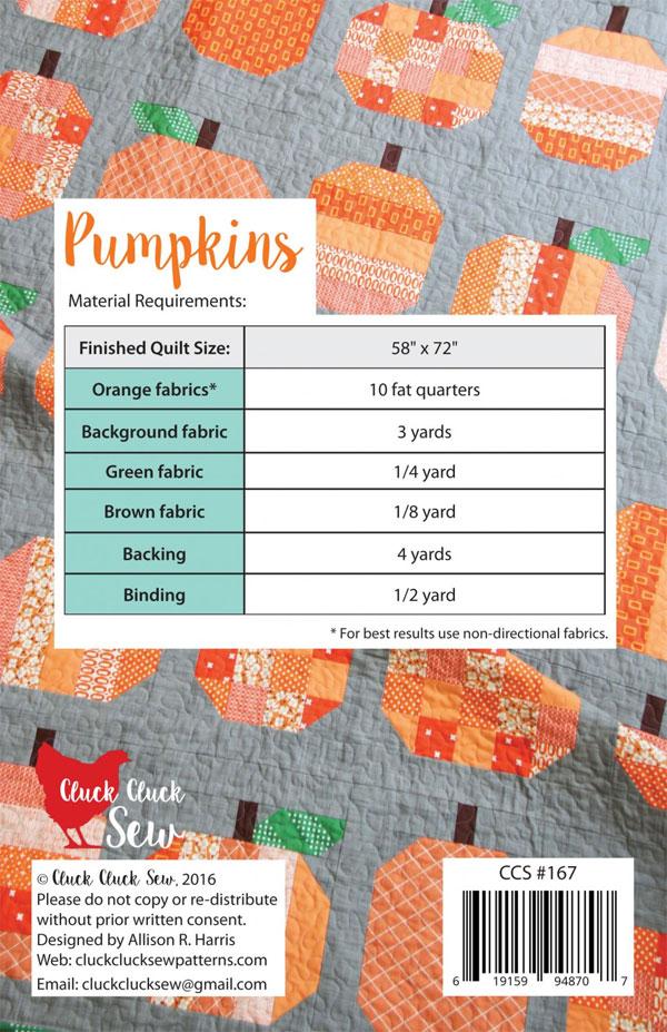 Pumpkins-quilt-sewing-pattern-Cluck-Cluck-Sew-back