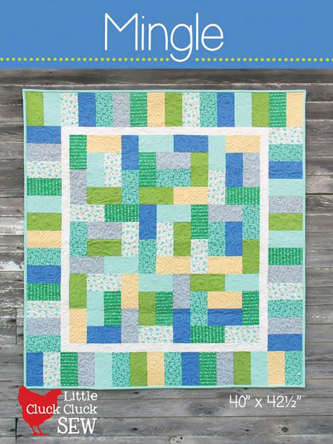 Mingle quilt sewing pattern from Cluck Cluck Sew