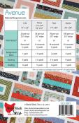 INVENTORY REDUCTION...Avenue quilt sewing pattern from Cluck Cluck Sew 1
