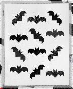 Bats quilt sewing pattern from Cluck Cluck Sew 2