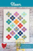 Bloom quilt sewing pattern from Cluck Cluck Sew
