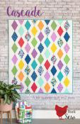 Cascade quilt sewing pattern from Cluck Cluck Sew
