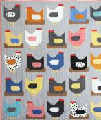 Chickens quilt sewing pattern from Cluck Cluck Sew 2