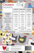 Chickens quilt sewing pattern from Cluck Cluck Sew 1