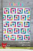 Color Pop quilt sewing pattern from Cluck Cluck Sew