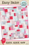 Easy Bake quilt sewing pattern from Cluck Cluck Sew
