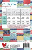 Fat Quarter Shuffle quilt sewing pattern from Cluck Cluck Sew 1