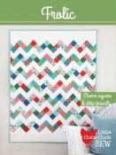 Frolic quilt sewing pattern from Cluck Cluck Sew