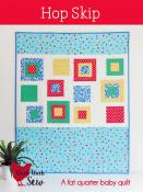 Hop Skip quilt sewing pattern from Cluck Cluck Sew