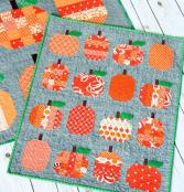 Mini Pumpkins quilt sewing pattern from Cluck Cluck Sew 2