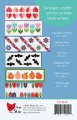 Modern Holiday table runners sewing pattern from Cluck Cluck Sew 1