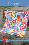 Nautical quilt sewing pattern from Cluck Cluck Sew
